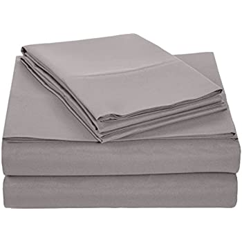 amazoncom mellanni bed sheet set brushed microfiber bedding wrinkle fade stain resistant 4 piece queen white home u0026