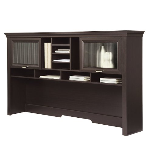Realspace Magellan Performance Collection Hutch, Espresso Collection Desk Hutch