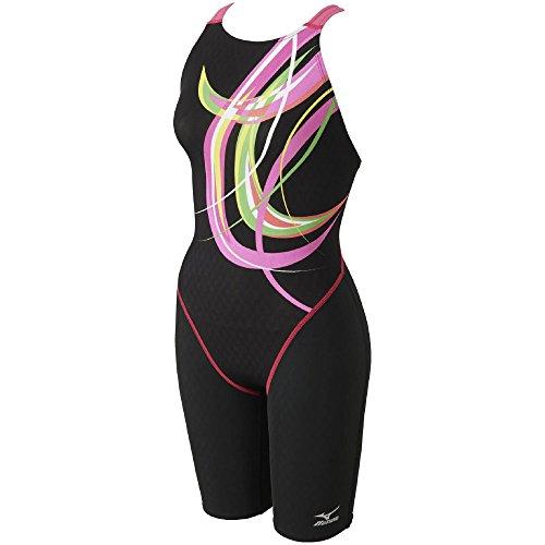 MIZUNO(ミズノ) 競泳水着 レディース ストリームアクティバ ハーフスーツ (オープン) FINA承認 N2MG7746