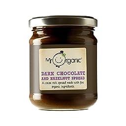 Mr Organic Dark Chocolate & Hazelnut Spread 200g - Pack of 2