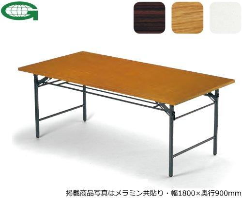 折りたたみテーブル(幅150×奥行60cm)(共貼り)(T-1560)(RO(M7)) B003ZK26IQ RO(M7) RO(M7)
