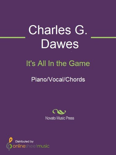 Its All In The Game Kindle Edition By Charles G Dawes Cliff