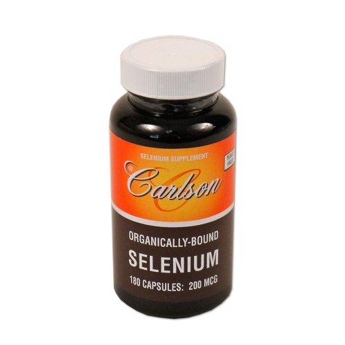 Carlson Labs Sélénium, 200 mcg, 180 Capsules