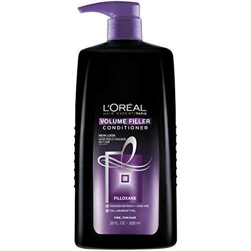 Hair Thickener Volumizing Shampoo (L'Oréal Paris Hair Expert Volume Filler Thickening Conditioner, 28 fl. oz. (Packaging May Vary))