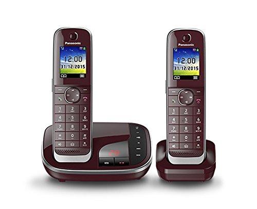 Panasonic KX-TGJ322GR Schnurlostelefon mit Anrufbeantworter (DECT)