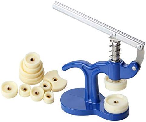 CAVIVI Professional Uhrendrücker Set Back Case Closer Uhrendrücker Set mit Pinzette Passend Uhrmacher Repair Tool Kit Uhrendrücker Closer Repair, Weiß geschliffen