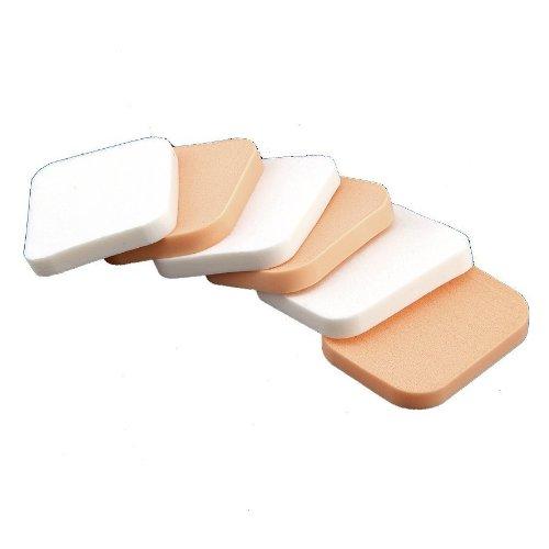 6x Puderquaste Schminkschwamm Make Up Schwamm Gesicht Schwämmchen Kosmetik