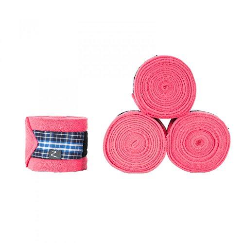 - Horze Berkeley Anti Pill Fleece Polo Wraps, Pink, One Size