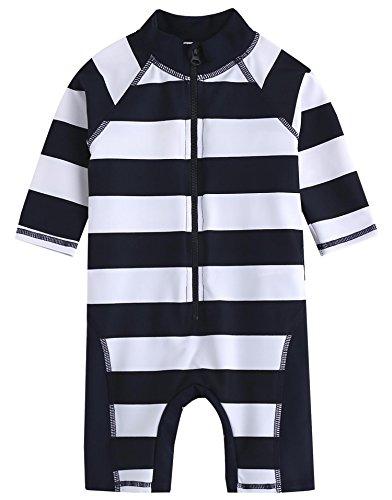 Vaenait Baby 0-24M Infant Boys Longsleeves One piece Swimsuit Baby Rico L