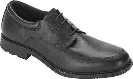 (Rockport Men's Essential Details WP Apron Toe Oxford,Black,6.5 W US)