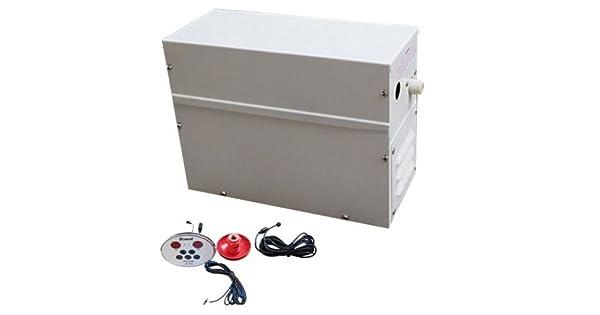 Amazon.com: Baño Sauna Generador de vapor Vapor Khan Estufa ...