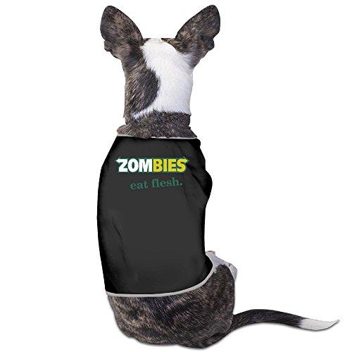 YRROWN Zombies Eat Flesh Dog Sweater