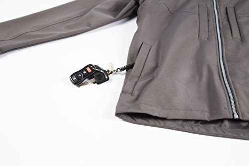 SCOTTeVEST Shell 8.0 - 22 Pockets - Travel Clothing, Pickpocket Proof BLK XL