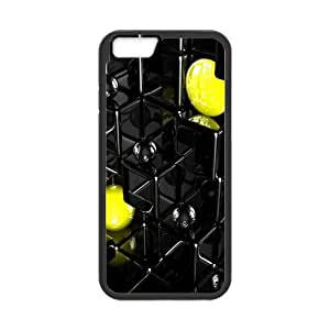 [Funny Series] IPhone 6 Plus Case 3D 43, Protective Case for Iphone 6 Plus Okaycosama - Black