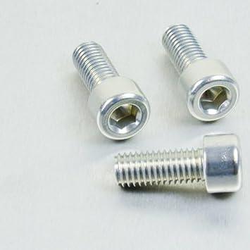 x 20mm Silver Aluminium Allen Bolt M8 x 1.25mm