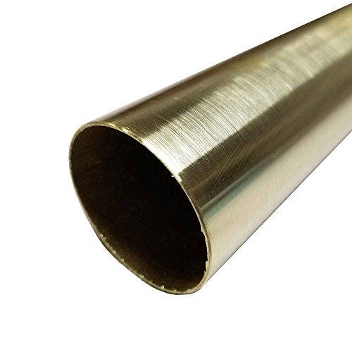 Online Metal Supply C272 Yellow Brass Round Tube 1-3/4