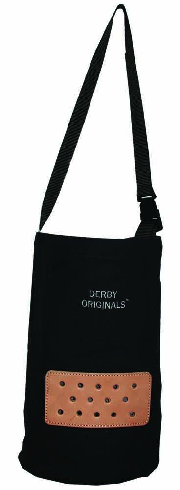 Derby Originals Heavy Duck Canvas Feed Bags, Black