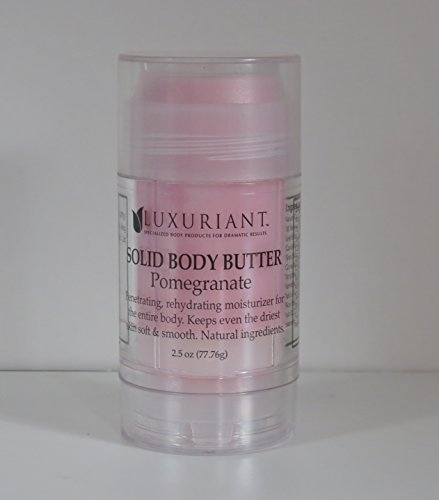 Luxuriant Solid Pomegranate Body Butter
