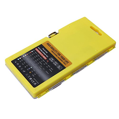 Alloet 60in1 Screwdriver Disassemble Tool Set Mobile Phone Car Repair Tools (yellow) by Alloet (Image #7)