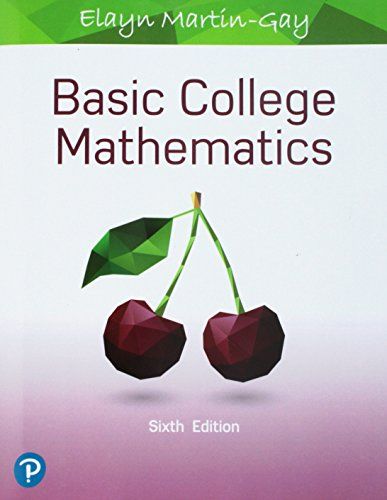Basic College Mathematics (6th Edition) (What's New in Developmental Math)