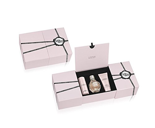 Viktor & Rolf Flowerbomb Fragrance Set for Women, 3 Count