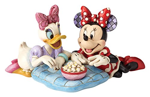 Daisy Duck Figurine - Disney Traditions by Jim Shore Minnie Mouse and Daisy Duck Stone Resin Figurine, 4