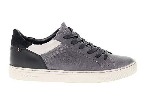 3a54f23495028 CRIME LONDON Men s 11031A1730 Grey Black Suede Sneakers