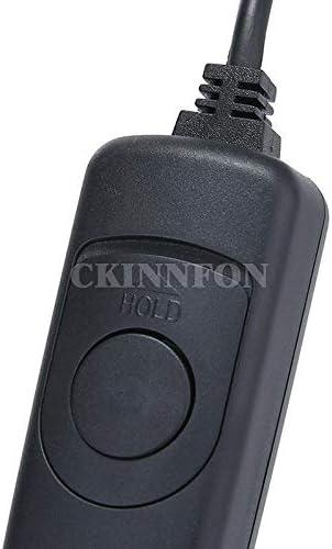 Calvas DHL 100PCS Black 85cm Camera Remote Control Switch Shutter Release RS 60E3 for Canon