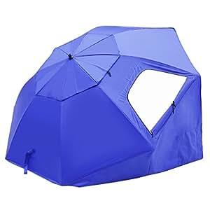 Sombrilla de playa outad paraguas para pesca refugio de - Sombrilla de terraza ...