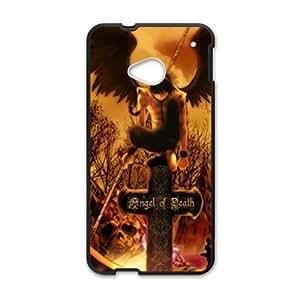 DAZHAHUI Angel of death unique Cell Phone Case for HTC One M7
