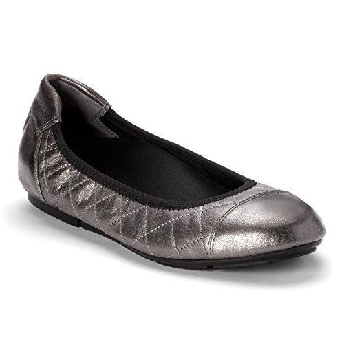 Vionic Womens Ava Ballet Flat B01N7TDL0G 7 B(M) US|Pewter