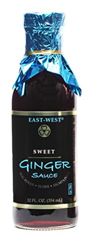 Pot Sticker Dipping Sauce (East-West Specialty Sauces, Sweet Ginger Dipping Sauce, 12 Ounce (Pack of 4))
