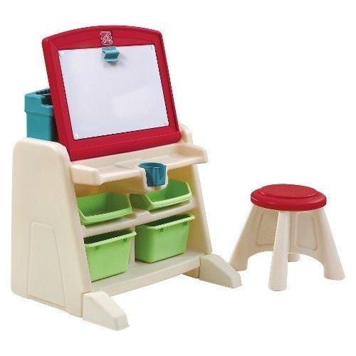 New Step2 -- Flip & Doodle Easel Desk with Stool by PUNER Store (Desk Doodle Flip Easel)