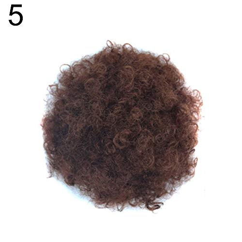 xxiaoTHAWxeFashion Women High Temperature Fiber Wig Curly Ball Cosplay Party Hairpiece - 5#