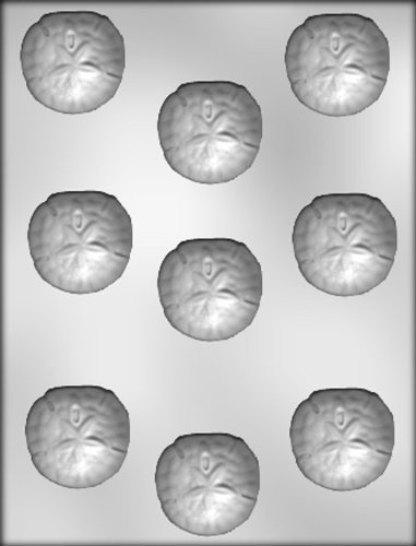 CK Products 1-3/4-Inch Sand Dollar Chocolate Mold ()