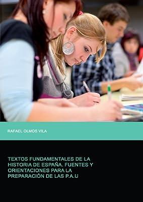 Textos Fundamentales De La Historia De España: Amazon.es: Vila, Rafael Olmos: Libros