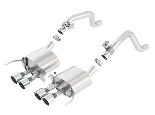 ear Section Exhaust System (with AFM Valves, Round Intercooled Tips) ()