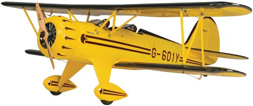 (Great Planes Waco YMF-5D Radio Controlled Glow or Gasoline Powered .91-1.20 Scale Almost Ready-to-Fly Biplane)