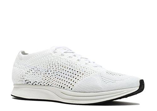 Nike Flyknit Racer Zapatillas de Deporte, Unisex Adultos white, white-sail-pure platinum