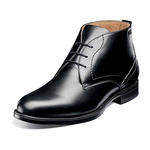Florsheim Hommes Midtown Imperméable Chukka Boot Noir Lisse
