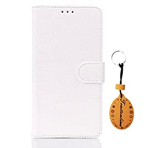 Traitonline White Lychee stripes PU Leather Case Back Cover Button skin shell For HTC Desire 816 Protective Skin Shell Pouch