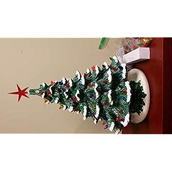 Amazon Com Thomas Kinkade Illuminated Nativity Tabletop Tree Glory