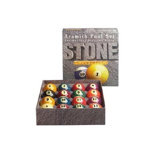 Image of Aramith Stone Collection Pool and Billiard Ball Set Billiard Balls