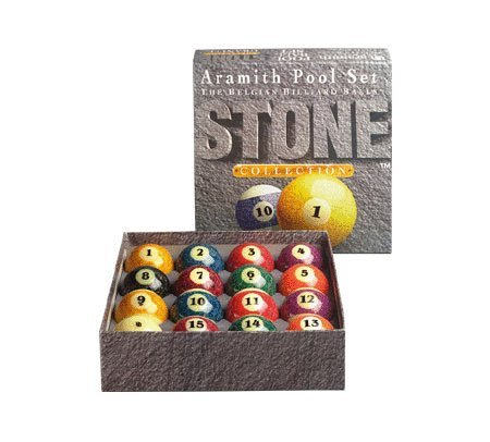 Aramith Stone Collection Pool and Billiard Ball Set