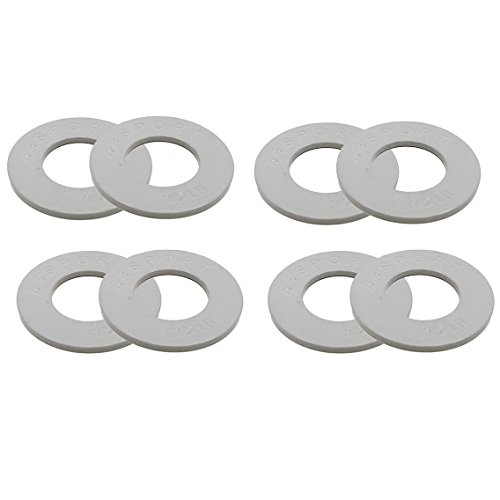 (44SPORT Olympic Fractional Plates -Set of 1/2 lb Weights (8 Plates. Total Weight: 4lbs) )