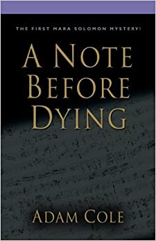 Book A Note Before Dying by Adam Cole (2013-11-15)
