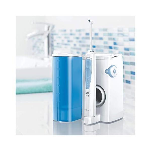 Oral-B Waterjet Sistema Pulente con Idropulsore e 4 Testine Waterjet, Pressione regolabile 5