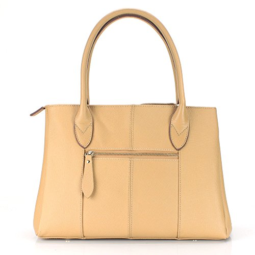 Handbag 141350 Leather cka aretha Top Satchel Handle Cowhide Genuine 7nxqZ0Y