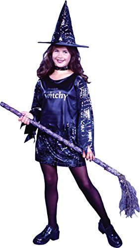 Girls Witchy Witch Costumes (Little Witchy Costume - Small)
