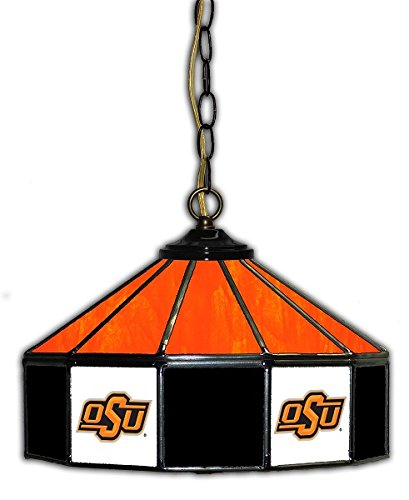 Official Licensed NCAA OKLAHOMA STATE 14'' Glass Pub Lamp by Imperial International by Imperial